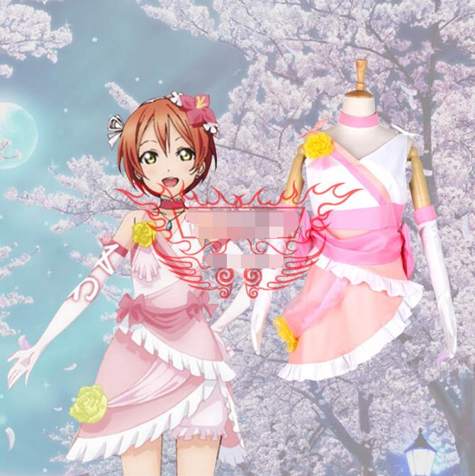 Hot Anime lovelive! cosplay Future style Rin Hoshizora cos Masquerade Halloween party cosplay costume Sweet fight song clothes image