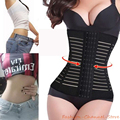 Breathable Waist Cincher Trainer Body Fitness Corset Shaper Workout Party Women Shapewear Underbust Control Tummy Belt