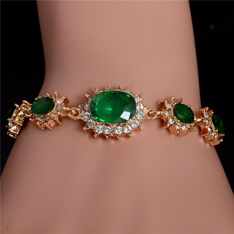 Pulsera Turkish Exquisite Adjustable Bangles Carved Flowers Antique Gold Filled Full Crystals Vintage Accessories Charm