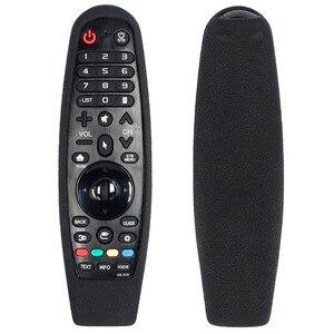 Image 3 - Bảo Vệ Silicone Điều Khiển Từ Xa Dành Cho Tivi LG AN MR600 AN MR650 MR19BA Magic Remote Bao Chống Sốc Có Thể Rửa Được Từ Xa Giá Đỡ