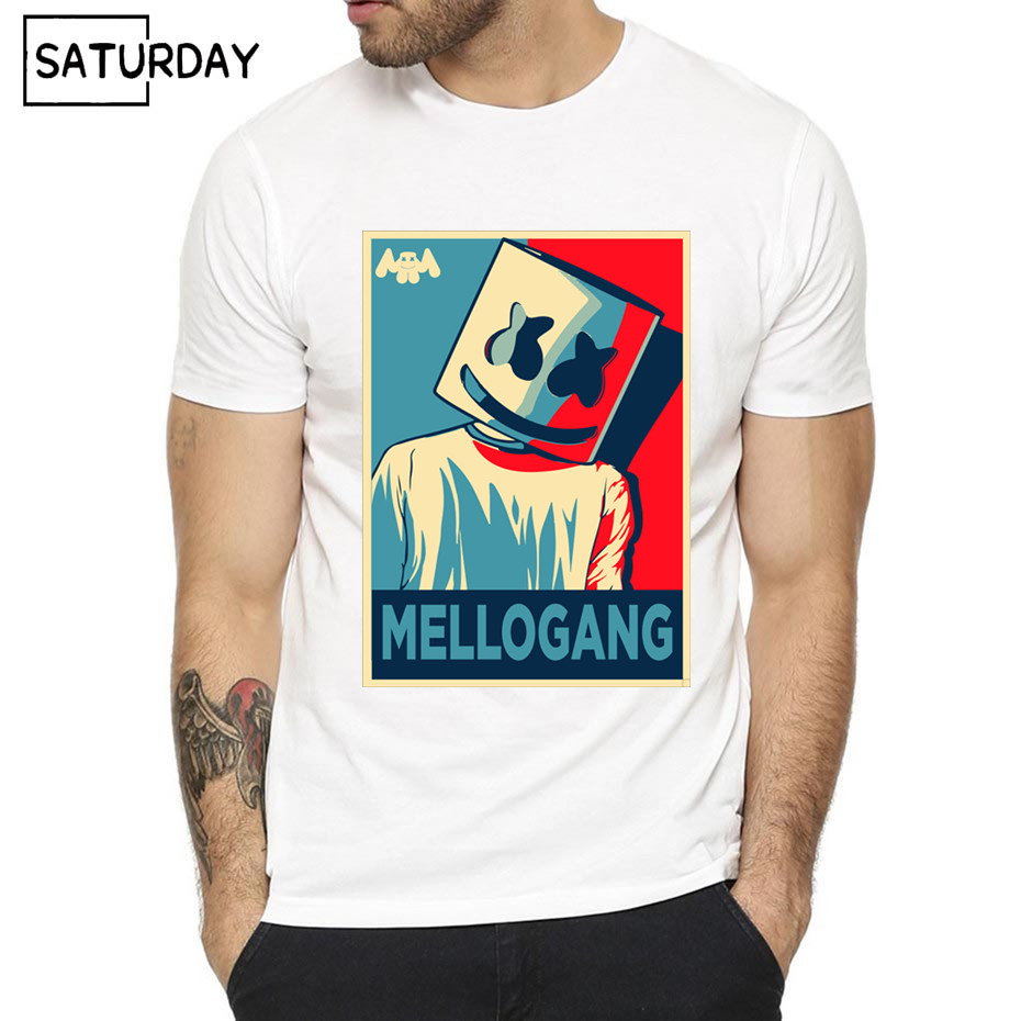DJ Marshmello O-Neck T-shirt