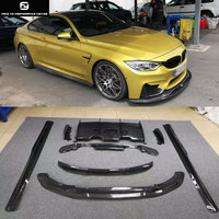 F80 M3 F82 M4 PSM Carbon fiber front lip rear diffuser side skirts rear spoiler for BMW F80 M3 F82 M4 PSM Style 15 17