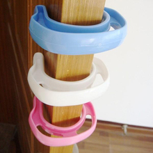 3pcs Glossy Plastic Baby Child Kids Safety Care Door Stopper Finger Protection Guard Anti Door Stop Jammer Corner Safe Protector
