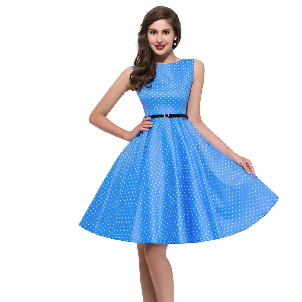 21 Designs Women Plus Size Rockabilly Vintage Dresses Floral Print ...