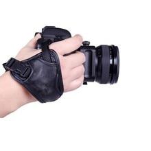 Треугольники Камера ремень ремешок комфортно и удобно кожа запястье для DSLR SLR Камера