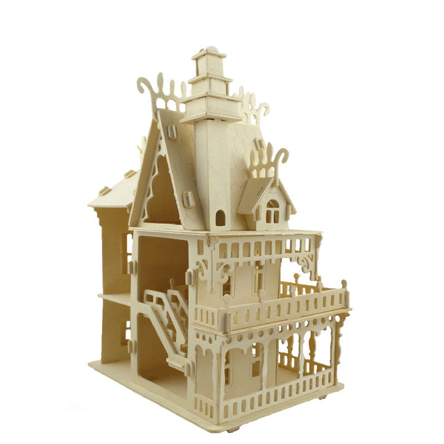 Victorian Dollhouse Model