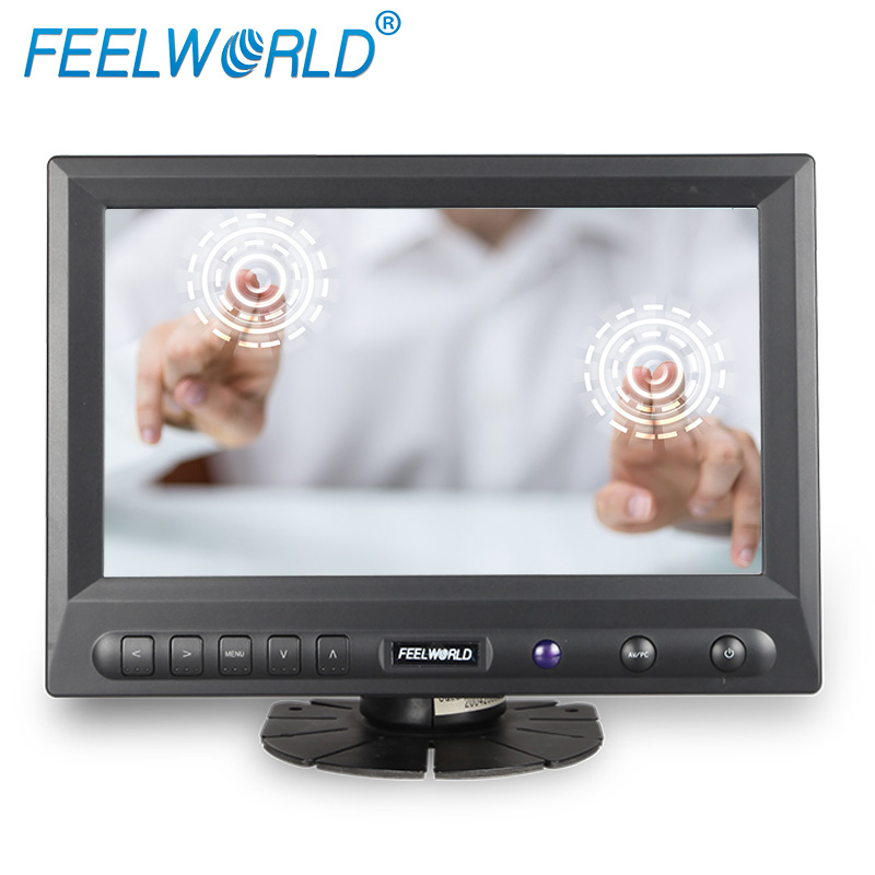Feelworld FW819AHT 8 Inch 800x480 TFT LCD Touch Screen Monitor with HDMI VGA Video Audio 8 LCD Monitor осциллограф siglent 8 tft lcd 70 2 sds2072 28