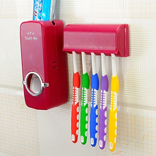 Automatic Toothpaste With 5 Toothbrush Holder Environmental Health Dust Antibact