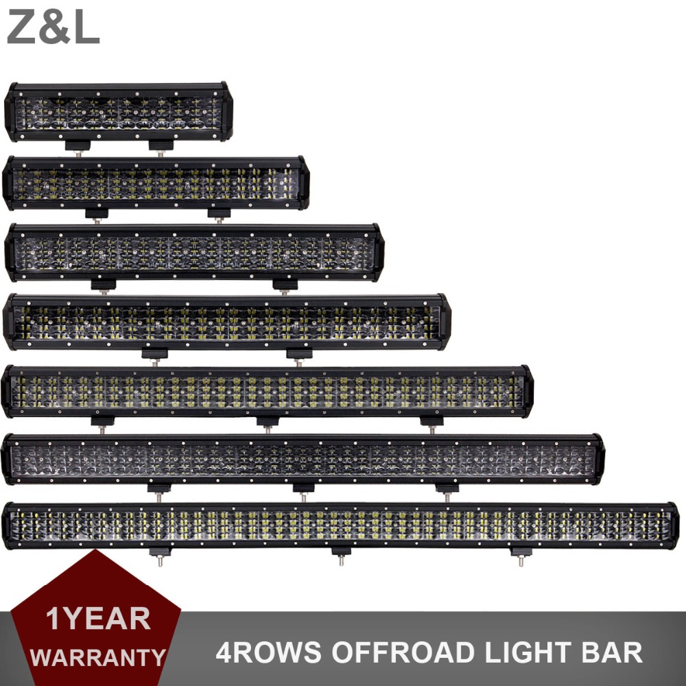 Offroad LED Light Bar 12V 24V Combo 4 12'' 18 20 23 31 36 44 Inch Car Truck SUV 4WD 4X4 ATV Trailer AWD Boat Camper Pickup Lamp