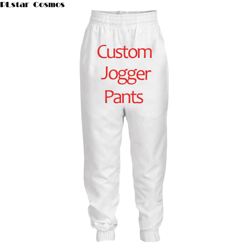 PLstar Cosmos Custom Made 3d Print Pants Casual Elastic Waist Mens Fitness Workout Pant Sweatpants Trousers Jogger