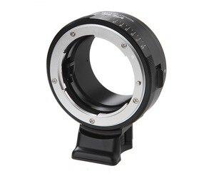 Image 2 - Viltrox NF NEX עדשת מתאם w/חצובה הר צמצם טבעת עבור ניקון F AF S AI G עדשה לסוני E מצלמה A9 A7SII A7RII NEX 7 A6500