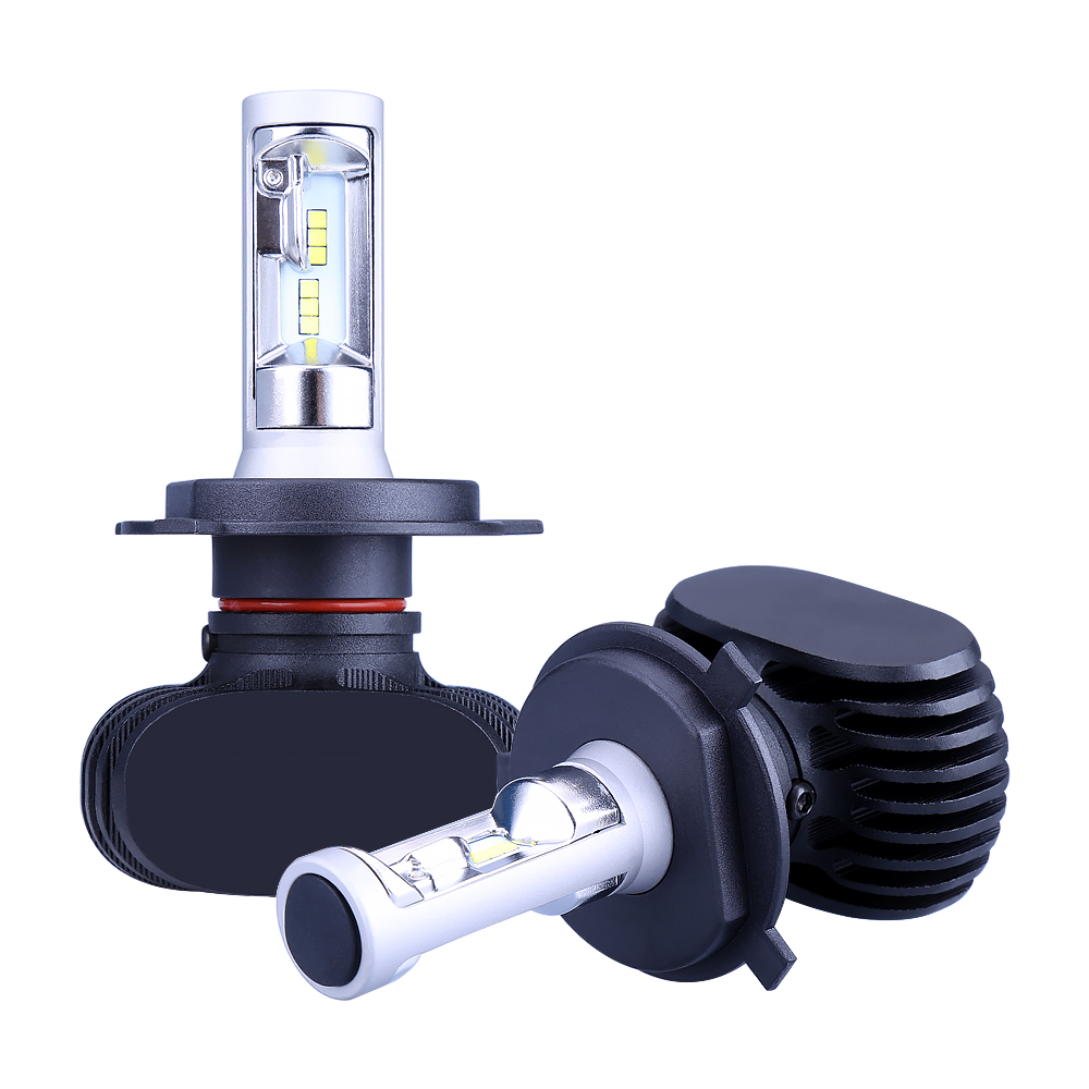 iSincer H7 LED H4 H11 H1 H13 9005 9006/HB4 80W 8000lm Car Headlight Auto Front Bulb Automobile Headlamp White 6500K Car Lighting
