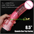multi speed 8.5 inch extra large realistic cock dildo penis vibrator sex toy for woman