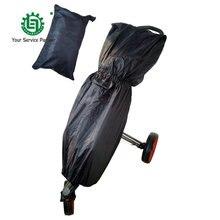 Brand New Golf Bag Rain Cover Black Waterproof Raincoat Dust Bag Protection Cover Dust-proof Golf Trolley/Cart Bag Rain Cover