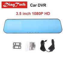 Gryan Car Rearview Mirror Dvr Car Full HD Dual Lens Car font b Camera b font