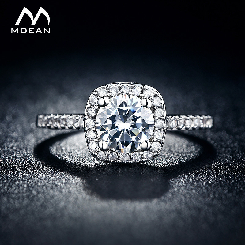 MDEAN Wedding rings for women...