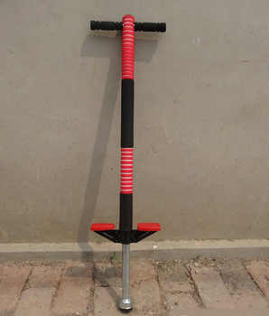 Adults/Children High Quality Steel Chrome Plated Jump Pogo Stick Double/Single Pole Bouncer with Lights Max Bearing 60kgs