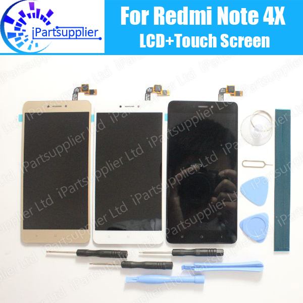 For Xiaomi Redmi Note 4X LCD Display Touch Screen 100 Tested LCD Digitizer Glass Panel Replacement