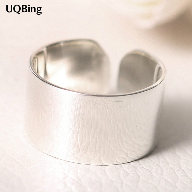 2016 Free Shipping 925 Sterling Silver Smooth Rings For Women Jewelry Beautiful