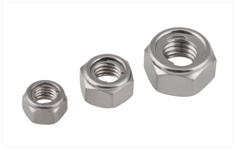 GB6184 304 stainless steel metal lock nut M3 M4 M5 M6 M8 M10 M12 M14 M16 M20 nut metal self-locking nut anti-loose nut gb6184 304 stainless steel metal lock nut m3 m4 m5 m6 m8 m10 m12 m14 m16 m20 nut metal self locking nut anti loose nut