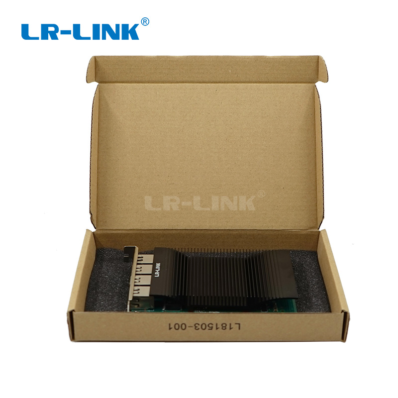 Image 5 - LR LINK 2005PT Gigabit Ethernet quad port Industry Application PCI E Network Card Network Adapter Intel I350 Nic-in Networking Storage from Computer & Office