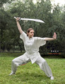 ZZB048 Short sleeves clothing Kungfu costumes  performance Tai chi clothing Wushu costume suits