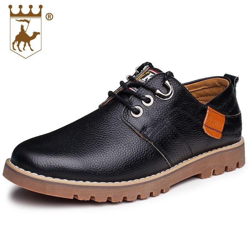up Brown dark Zapatos Backcamel Mens Handmade Hombres Genuíno Brown Black Homens light Confortáveis Sapatos Casuais Dos Negócios Lace De Couro xSOHRqxw