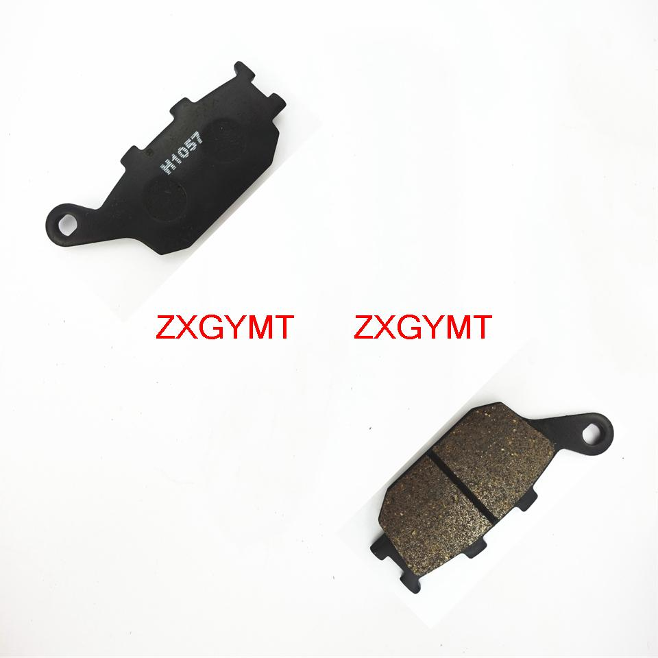 Xl700 2008-2009 Disc Brake Pads 3 Piston Caliper Strict Great Semi Met Rear Disc Brake Pads Fit Honda Xl 700 Va8 Transalp Abs Model