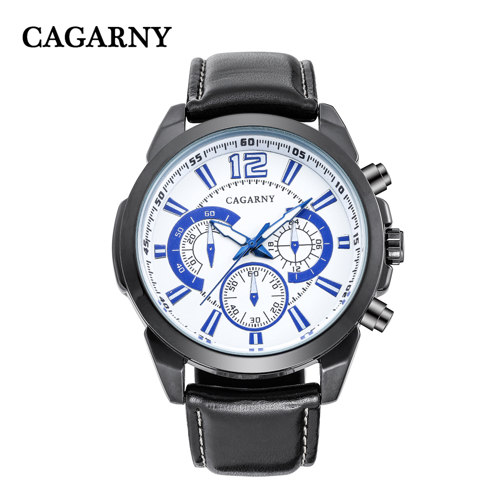 free shipping quartz wristwatches leather strap sports watches casual mens wrist watch black case (7)