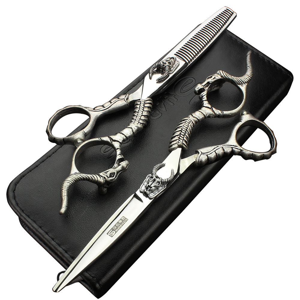 ФОТО Sharonds 6 inch hairdressing tools hairdressing scissors suit salon dedicated haircut supplies tool