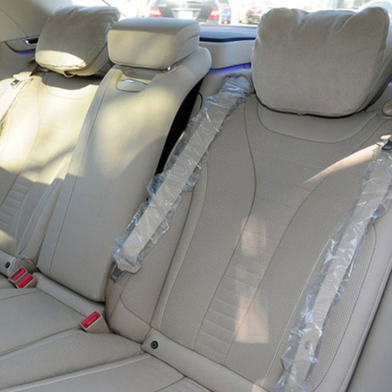 Araba Koltuğu Boyun Kadife Peluş Oto Kafalık Yastık Destekler - Araç Içi Aksesuarları - Fotoğraf 3