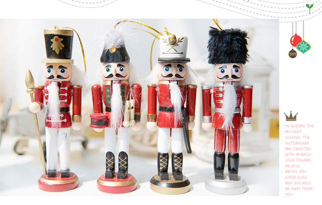 nutcracker soldier puppet home decoration wedding gift birthday gift ideas christmas
