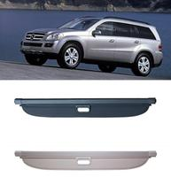 Car Rear Trunk Security Shield Shade Cargo Cover For Benz GL Class W164 GL350 GL400 GL450