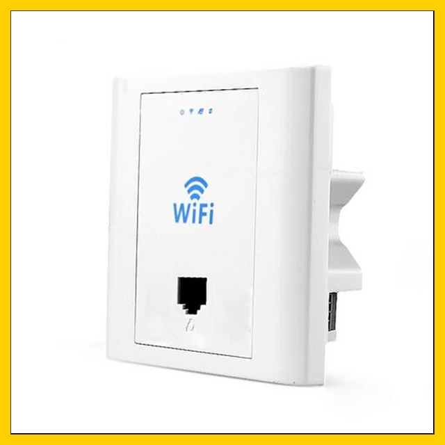 10 Pcs 300 Mbps Einbau Ap Access Point Wi-fi Wireless Router Repeater Lf-pw300s24v
