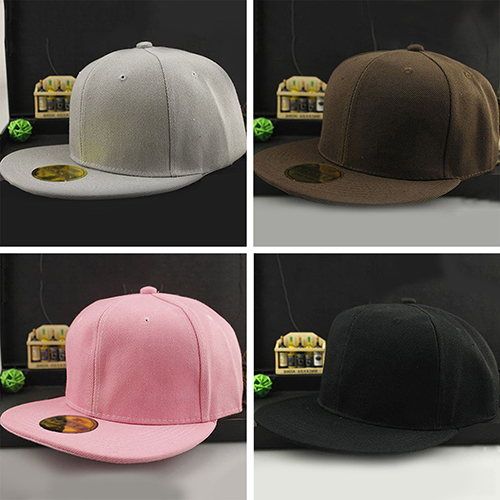 d9d3ec3e4 Unisex Fashion Hip Hop B Boy Blank Plain Adjustable Snapback Hat Baseball  Cap-in Baseball Caps from Men's Clothing & Accessories on Aliexpress.com |  ...