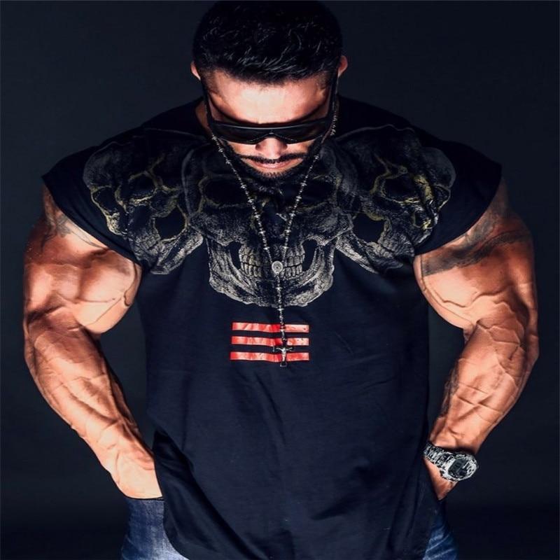 2018 Summer Newest   Tank     Top   Men New Clothing Bodybuilding Fitness Workout Muscle men Vest Sportswear Undershirt M.XXXL