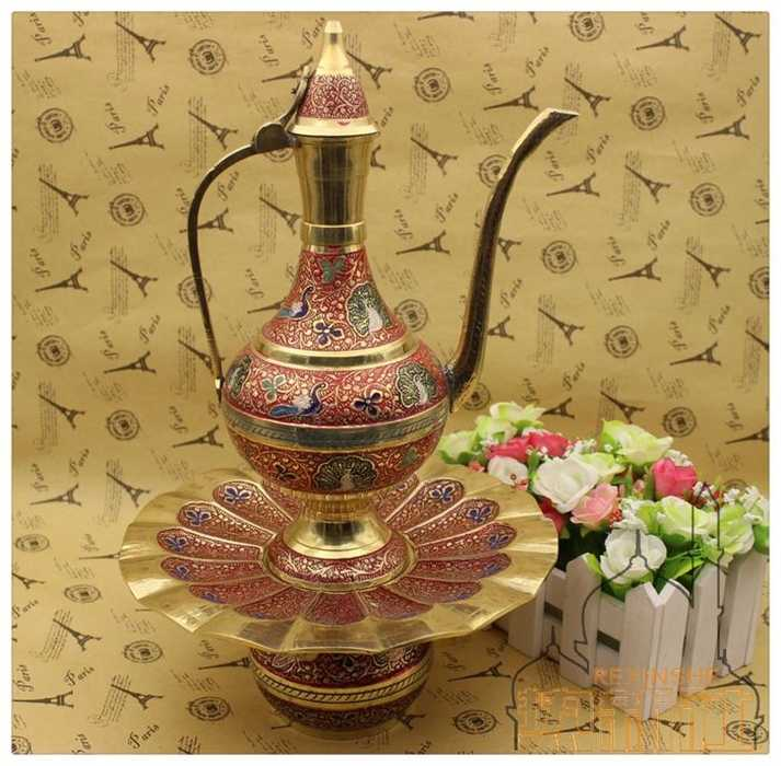 The Latest Technology Of India Arts And Crafts Brass Pot Technology Aliexpress