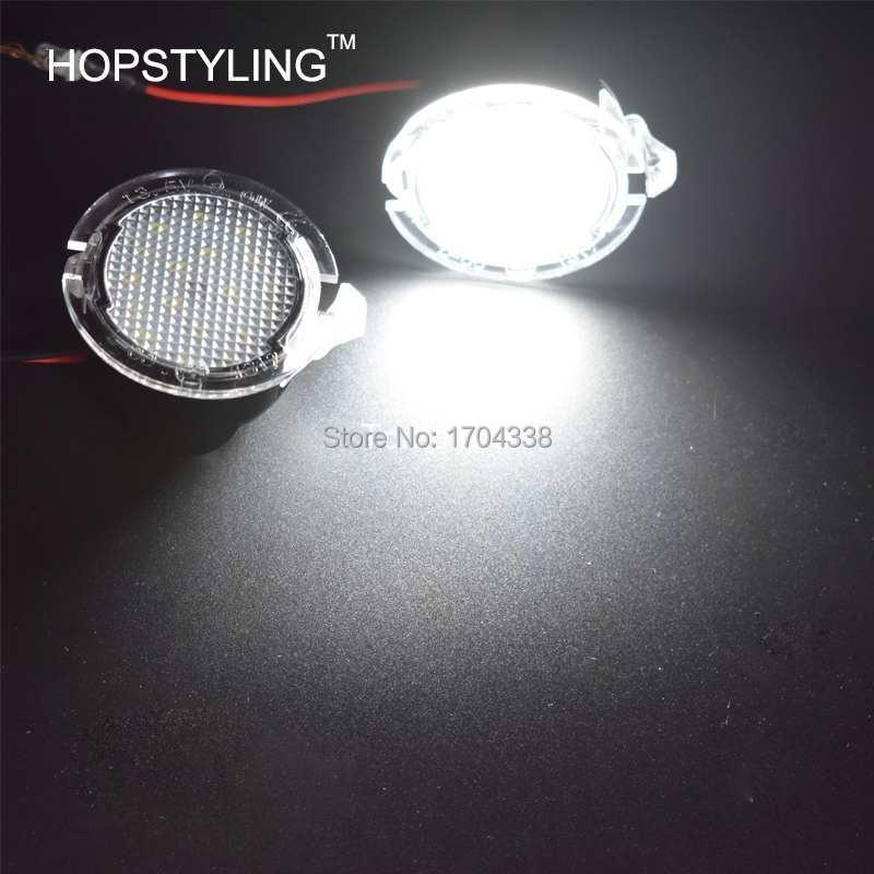 Pārvietošanās 2x Ford LED zem spoguļa skaļruņa F-150 EDGE - Auto lukturi - Foto 4