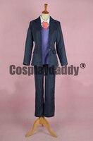 JoJo's Bizarre Adventure Phantom Blood Robert E. O. Speedwagon Anime Ver. Suits Uniform Cosplay Costume F006