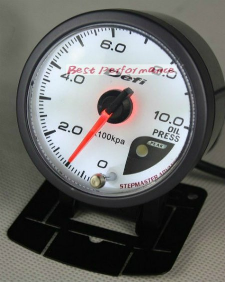 US $20 5 |NEW 60mm DEFI Style of Meter CR Stepper Motor OIL PRESSURE GAUGE  /WITH SENSOR Gauge/Car Meter /Auto Gauge / Auto Meter on Aliexpress com |