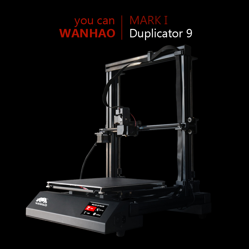 300*300*400 Duplicator 9 FDM Desktop 3D Printing / Large format 3D Printer / high end accuracy / Factory direct sale and supprt desktop 3d printing digital 3d printing for sale