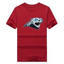 2017 Carolina Sugar Skull T-Shirt 100% Cotton Panthers o-neck T shirt 1221-1