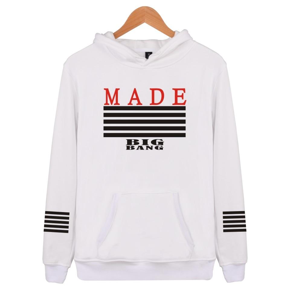 2018 Bts Kpop Made Mit Kapuze Männer/frauen Harajuku Männer Hoodies Sweatshirts Bts Männliche Paare Mode Pullover Hoodies Männer Sweatshirt