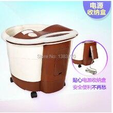 Heating portable foot detox spa feet basin Multifunctional Foot Spa Massager Health care body