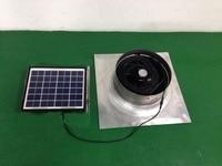 DIY Гейбл вентилятор Солнечный Гейбл поклонников солнечный вентилятор вентиляции Ёмкость 1279cfm 20 Вт низкая Шум 12 В для дом, mall, кухня