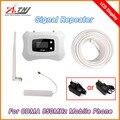 2016 Nova Atualização LCD 850 mhz Mini GSM 2g 3g sinal de celular gsm 3g repetidor celular reforço de sinal de telefone celular impulsionador 3G kit