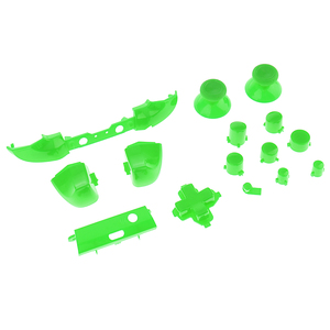 Image 5 - For Xbox One Slim Replacement Full Bumper Trigger Buttons DPad LB RB LT RT Mod Kit For Xbox One Slim Controller Custom Cover