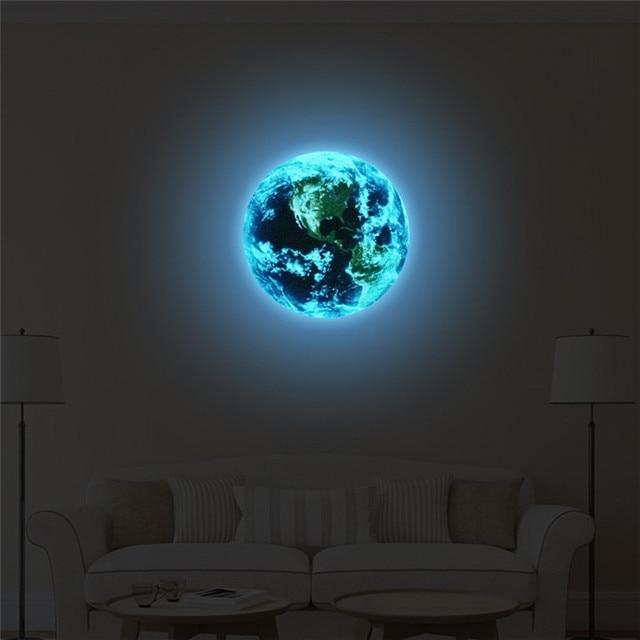 Luminous Blue Earth
