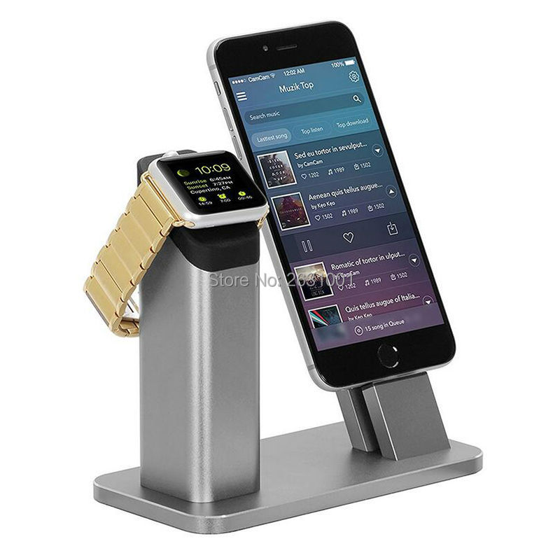 phone charge holder gray 1-1