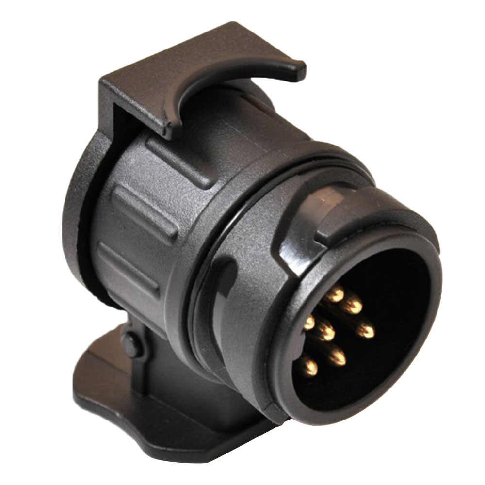 12 V Trailer Bedrading Connector 13 Om 7 Pin Trailer Adapter Black Frosted Materialen Trekhaak Trekhaak Plug Dropship